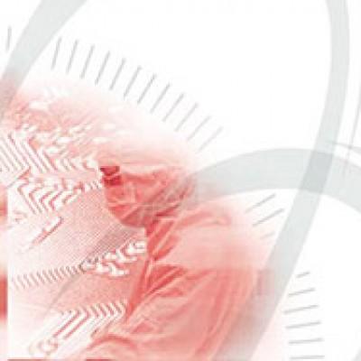 Plaquette d'une entreprise spécialisée en informatique industriel