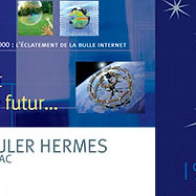 Panneaux créés pour les 80 ans d'Euler Hermes