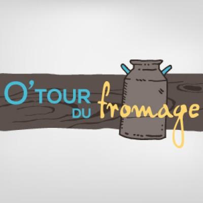 Logo pour un fromager O'Tour du fromage
